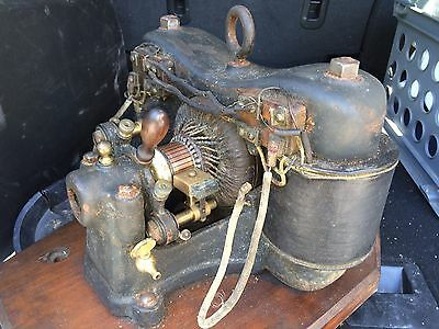 Vintage 1910s/20s Dynamo,Generator,Electricity Producing Machine,Heavy Cast Iron