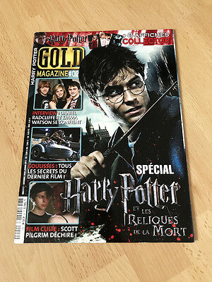 (French) GOLD Magazine #2 2010 Harry Potter Collector's Special Daniel Radcliffe