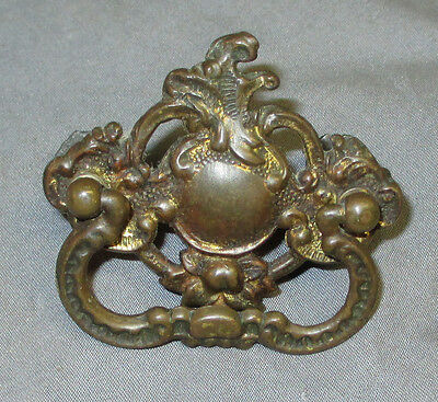Antique Ornate Brass Singer 15 27 Sewing Machine Drawer Pull Handle 1900 - 1908