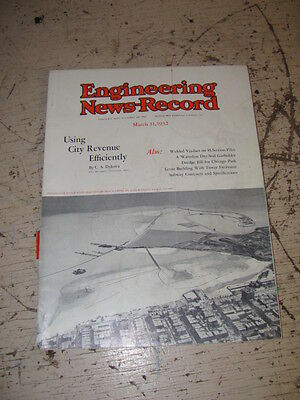 March 31 1932 Engineering News Record Magazine Lima 101 Dodge Trucks P&h
