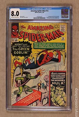 Amazing Spider-Man (1963 1st Series) #14 CGC 8.0 1554920001