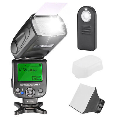 Neewer Kit De Nw620 Flash Speedlite Manual Con Accesorios Para Digital Cámara