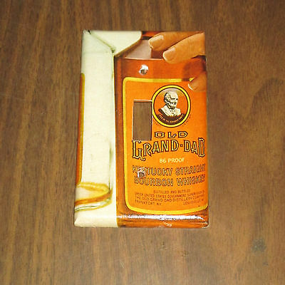 Vintage Style OLD GRAND-DAD KENTUCKY Whiskey Bottle LIGHT SWITCH COVER PLATE