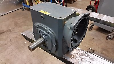 """Boston Gear Speed Reducer F726-60-B5-G 60:1 Ratio Right Angle C-Face 1-1/8 5/8"""""""
