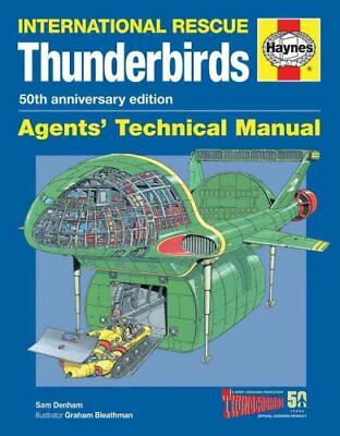 Thunderbirds 50th Anniversary Manual by Sam Denham 9780857338235