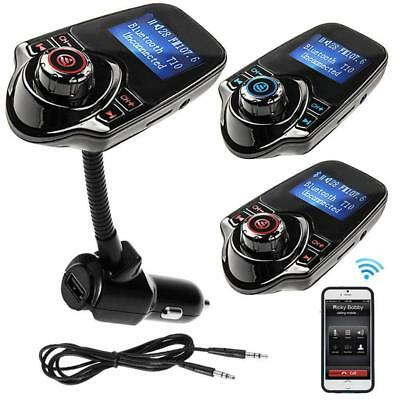 Hands-free Bluetooth Car Kit MP3 Player FM Transmitter USB Car Charger 2017