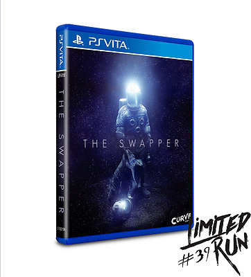 Ps Vita Swapper Limited Run Game #38 Sealed with Card and Sticker. RARE