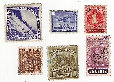 Old World * Local Bob == 10 ==  Foreign  Used&mint Unsorted