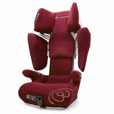 Concord Transformer T Group 2/3 Car Seat Bordeaux Red