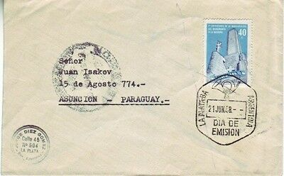 Argentina - Various Special Events, Views, & Anniversaries (5no. FDC's) 1958-87