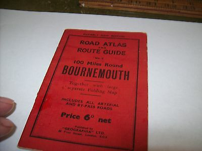 bournemouth  old map directory