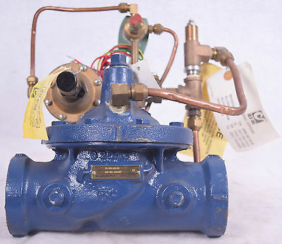 "NEW Cla-Val 2"" Pressure Reducing Valve 2-93-01AS 3/8"" CRD Solenoid FREE SHIPPING"