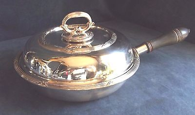 Superb LARGE ~ SILVER Plated ~ TABLE Serving PAN ~ c1890 by Elkington