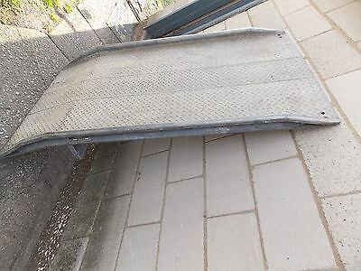Magnesium  Dock Plate, Dock Ramp, shipping container ramp- Great U.S.A made