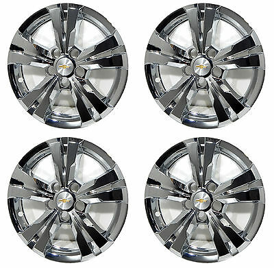 """(4) 2017 Chevy Equinox 17"""" Chrome Wheel Skins Liners / Center Caps Included"""