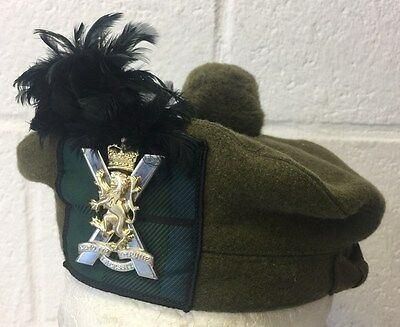 RRS ROYAL REGIMENT OF SCOTLAND COMPLETE TAM O SHANTER - Sizes , British Army