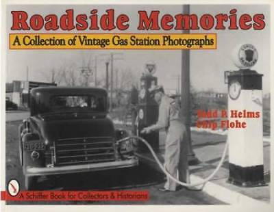 Vintage Gas Station Photographs 1920s-1970s Guide Incl Standard, Gulf Oil, More