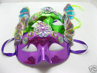 10 Attractive l@@k Dress Up Masks Mixed Colour toy-o101