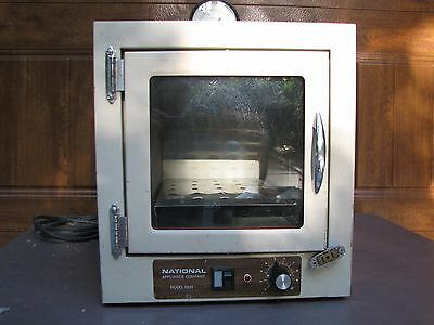 National Appliance NAPCO Model 5831 Laboratory Vacuum VAC Oven Incubator System