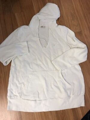 Old Navy Maternity XL Hooded Pullover Cream Soft White/cream (5)