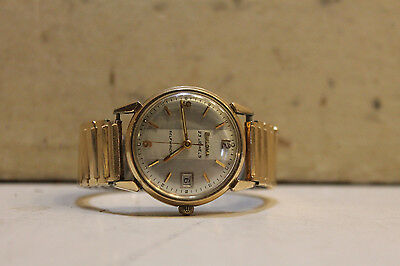 Bulova Automatic 10K Rgp Self Winding Watch M6 I864251
