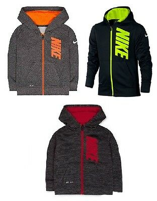 Brand NEW - Nike Youth Little Boys Therma-FIT Zip Up Hoodie - Pick Size & Color