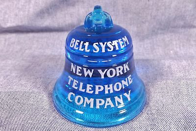 Vintage Early New York Local & Long Distance Telephone Bell Paperweight