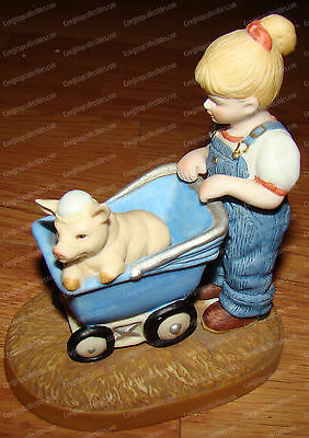 The Country Store, Little Farmers (Limited Edition, 1983) Pig in Baby Carriage