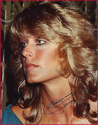 """Farrah Fawcett -- CHARLIE'S ANGELS -- Hand-Signed LARGE 11 x 14"""" Color Photo"""