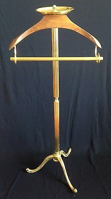 Men's Valet Stand ~ Embossed  Brass