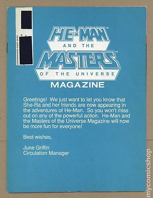 He-Man and the Masters of the Universe Magazine #11 VG 4.0