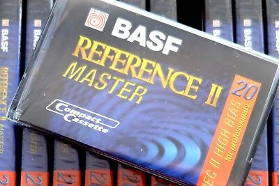 Basf Reference Master Ii 20 High Bias Type Ii Blank Audio Cassette - 1995