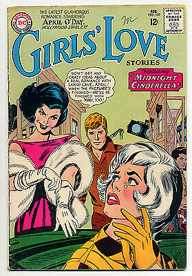 GIRLS' LOVE STORIES 109 (1965 DC romance) April O'Day; FN- 5.5