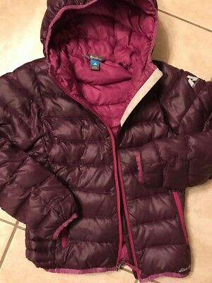 Eddie Bauer Kids S (7-8) First Ascent Down Jacket - Eggplant