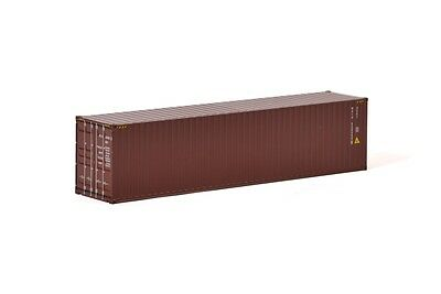 40' SHIPPING CONTAINER - BROWN - 1:50 Scale by WSI 04-1171