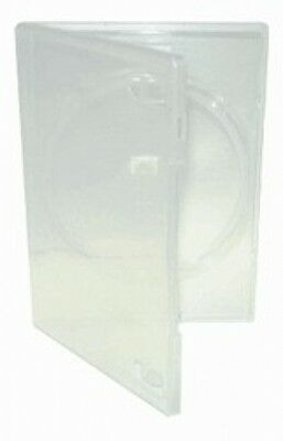100 STANDARD Clear Single DVD Cases