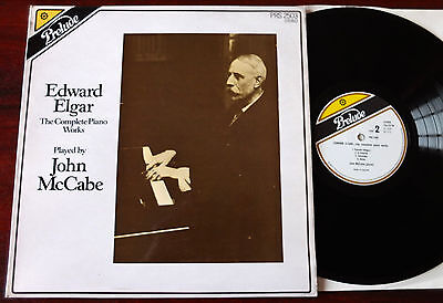 Elgar The Complete Piano Works Lp Mccabe Prelude Prs 2503 Nm (1976) Engkand