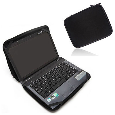 "15 15.6""  Laptop Sleeve Bag Case Cover W/4 Straps For HP Dell Acer Lenovo"