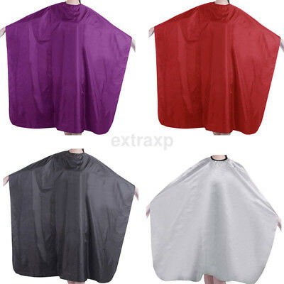 Salon Equipment Adult Barbers Hairdresser Hair Cutting Cape Gown Clothes CA