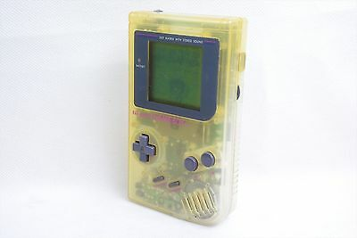 JUNK Game Boy BROS Original Clear Console DMG-01 Classic Nintendo 1820 gb