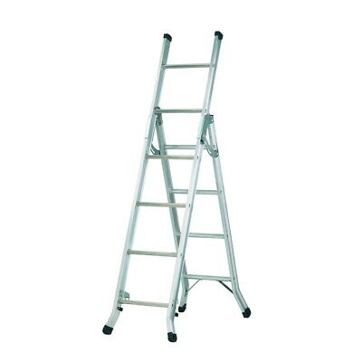 3 Way 'Big Red Foot' Combination, Extension & Stair Ladder Ladders