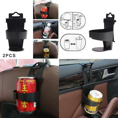 2PCS Universal Auto Vehicle Door Seat Mount Drink Bottle Can Cup Holder Stand