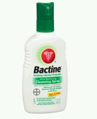 4 PACK Bactine Spray 5 floz Pain & Itch Relieving Cleansing Antiseptic First Aid