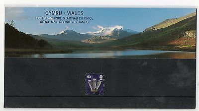 GB 2000 Wales Regional Definitives 65p Presentation Pack No. 51 VGC stamps