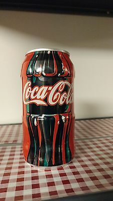 8 Pack Coke Classic Tapered (At 'waist') Cans - Empty