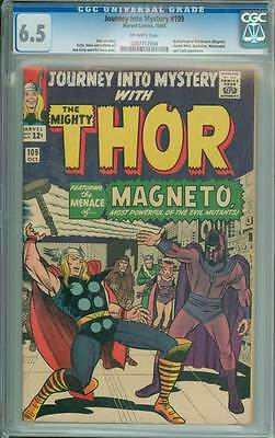 Journey into Mystery # 109  The Menace of Magneto !   CGC 6.5 scarce book !