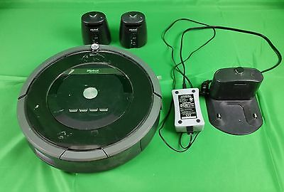iRobot 880 Roomba Vacuum Cleaning Robot + 2 Light Houses Virtual    Repair?