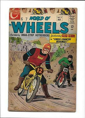 "World Of Wheels #17  [1967 Vg+]  ""cross Country Revenge!"""