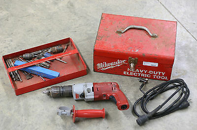 "Milwaukee Magnum - Heavy Duty 1/22"" Corded Hammer Drill Cat #5370-1"