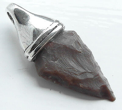 ELF-SHOT - SUPERB GENUINE NEOLITHIC FLINT ARROW HEAD - circa 4000BC